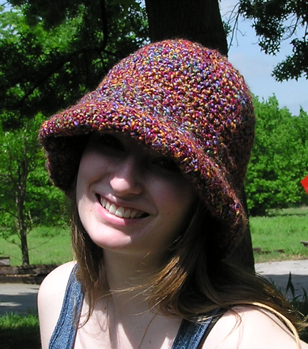 The Zen Lady Hats - The Wide Brim Crochet Hat